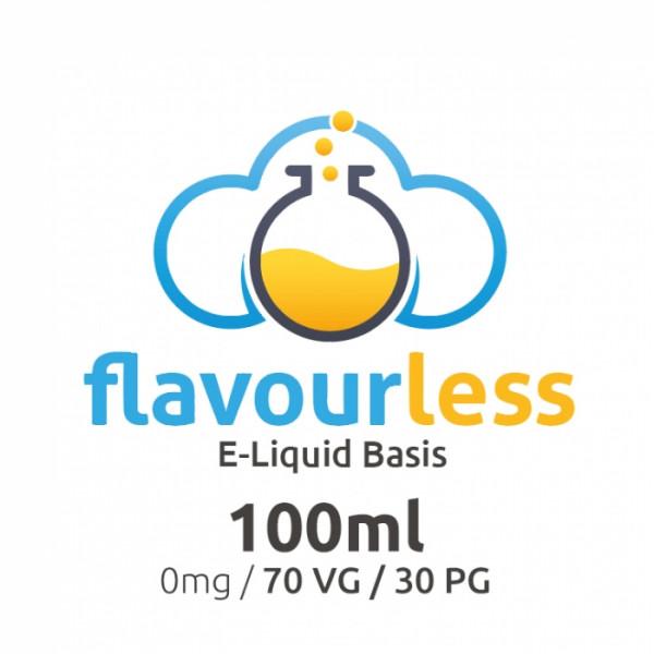 flavourless Base 100ml - 70/30 VG/PG - zum Selbstmischen von Liquids
