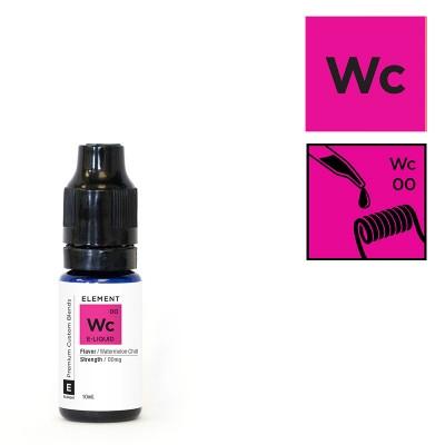 [MHD:01.2021]ELEMENT WATERMELON CHILL (eisige Wassermelone) - 10ml - E-Liquid made in USA