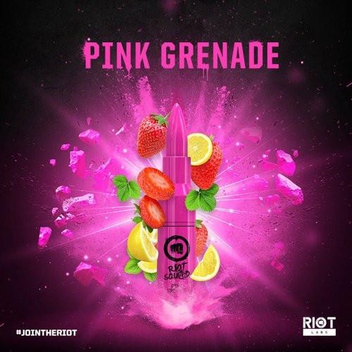 Riot Squad PINK GRENADE 50ml OVERDOSED - E-Liquid made in UK