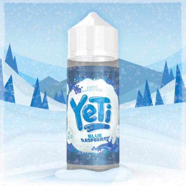 BLUE RASPBERRY 100 ml Liquid Overdosed - YETI