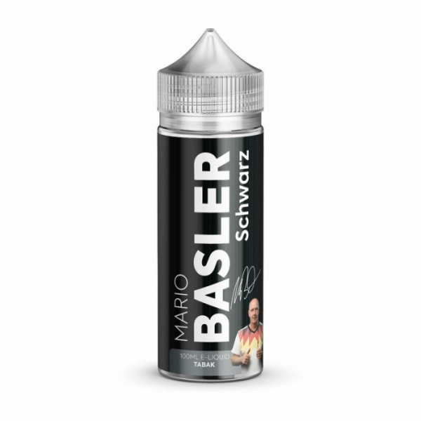 Schwarz (Tabak) 100ml Shortfill - Mario Basler Liquid