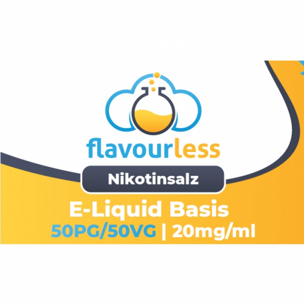 ! VPG NIKOTINSALZ flavourless Booster Basen-Shot (50/50) 20mg - 10ml