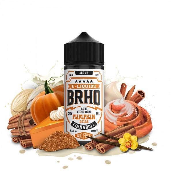 Pumpkin Spice Cinnaroll 20ml LongFill - BAREHEAD