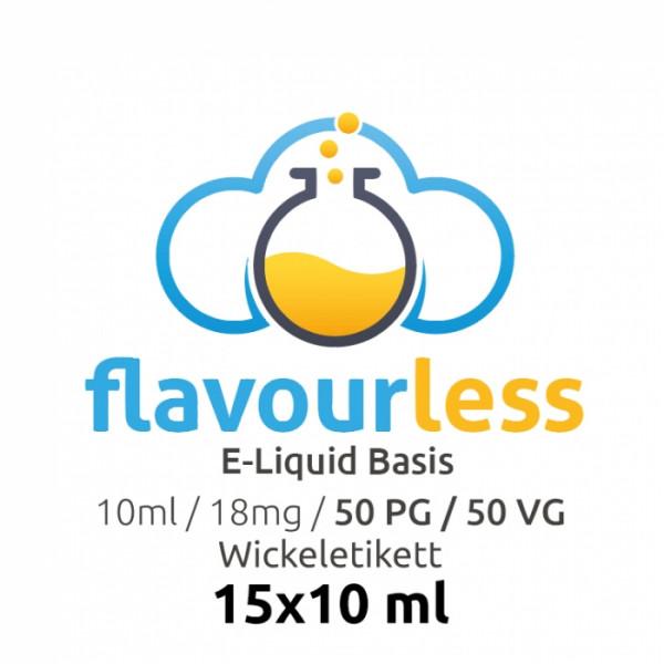 ! VPG Basen-Shot (50/50) 18mg - 15x10ml Wickeletikett - flavourless