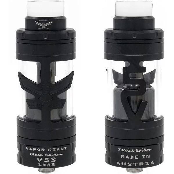 VaporGiant V5 S BLACK EDITION Selbstwickel-Tankverdampfer 23mm - VaporGiant