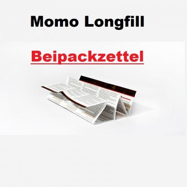 Momo Beipackzettel für 2021 Konformität