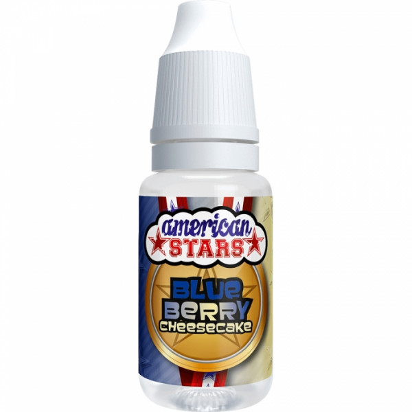 American Stars BLUEBERRY CHEESECAKE - American Style E-Liquid made in EU