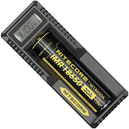 Nitecore UM10 USB-Ladegerät mit LCD-Display für Li-Ion Akku/Einschachtlader