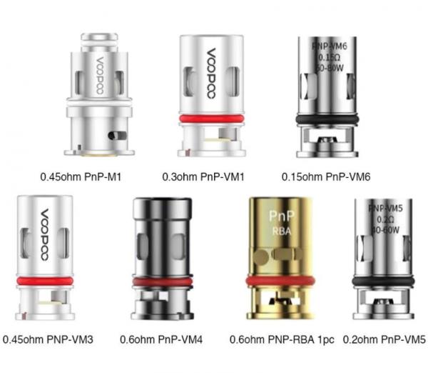 Voopoo PnP-VM Coils