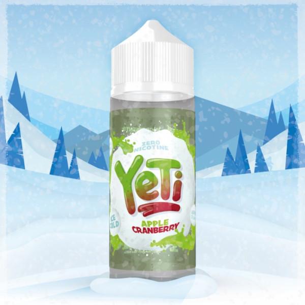 APPLE CRANBERRY 100 ml Liquid Overdosed - YETI
