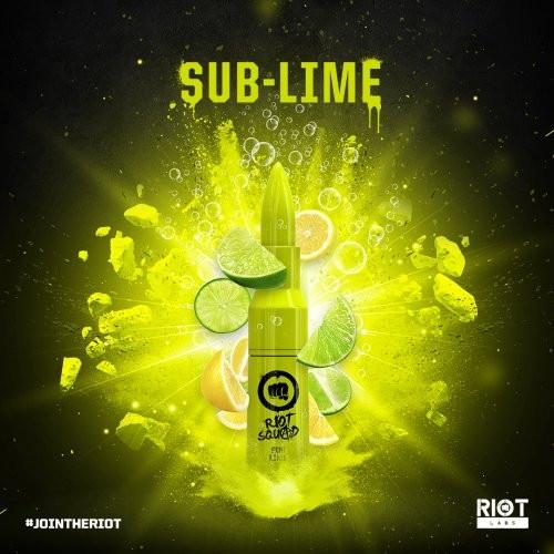 Riot Squad SUB-LIME 50ml OVERDOSED - E-Liquid made in UK