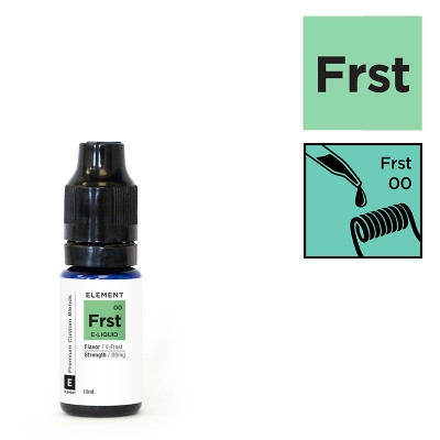 ELEMENT FROST (frostiger Menthol-Kick) - 10ml - E-Liquid made in USA
