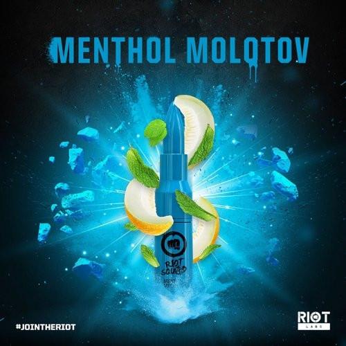 Riot Squad MENTHOL MOLOTOV 50ml OVERDOSED - E-Liquid made in UK