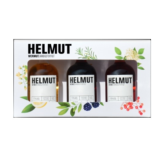 HELMUT Tastingbox 3x50ml (Wermut)