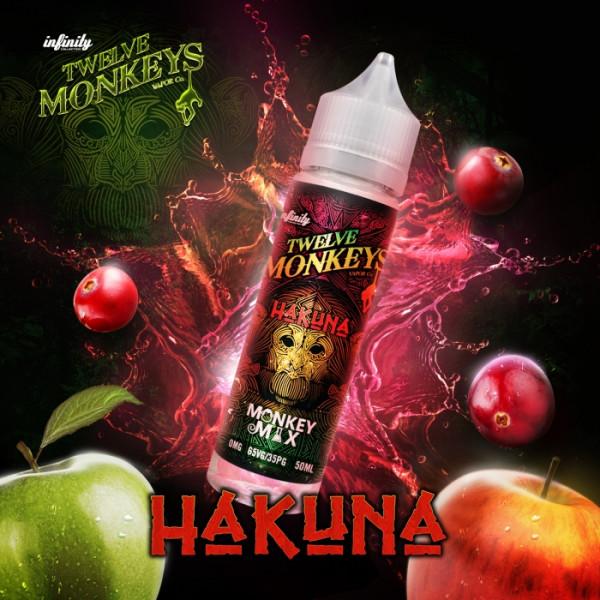 12 Monkeys 50ml HAKUNA OVERDOSED - E-Liquid made in CANADA