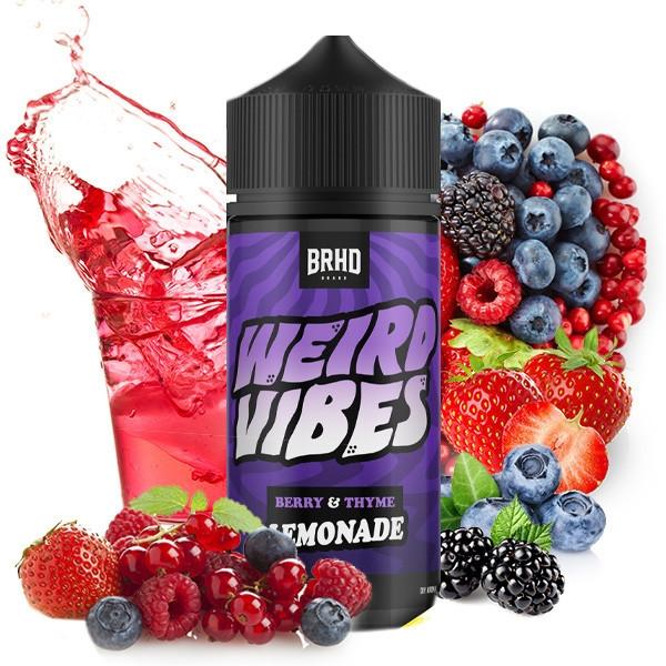 Weird Vibes Berry-Thyme 20ml LongFill - BAREHEAD