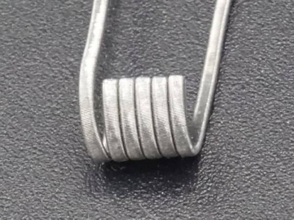 Manufaktur Coils - MTL Ultra-Fine-Flat-Clapton 0,5 - 0,7 Ohm